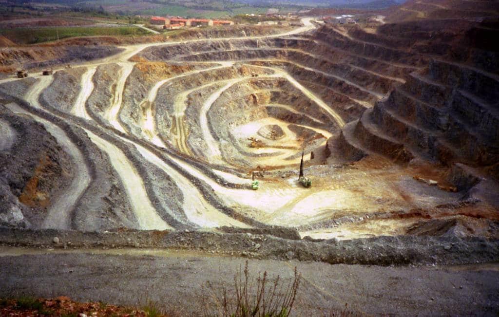 La Mine d'Or de Salsigne dans l'Aude