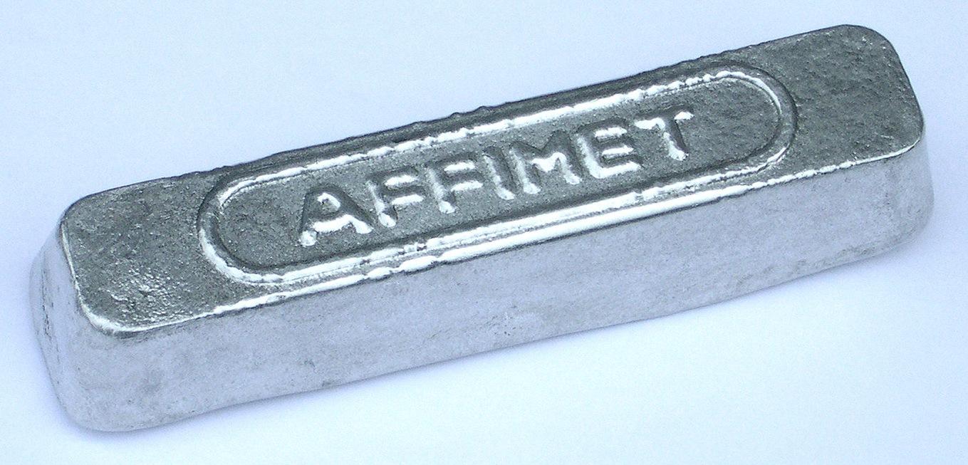 Lingot aluminium