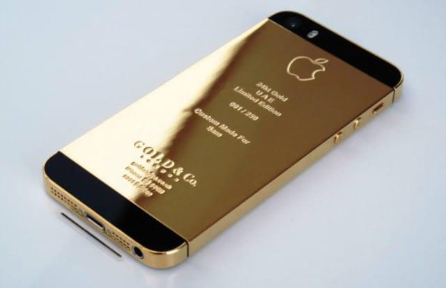 iPhone 5S en or