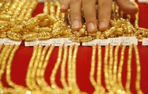 vente d'or en chine