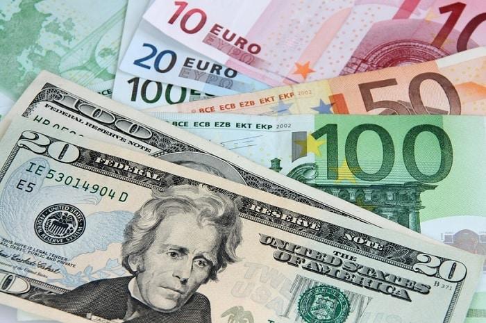 dollar et euro