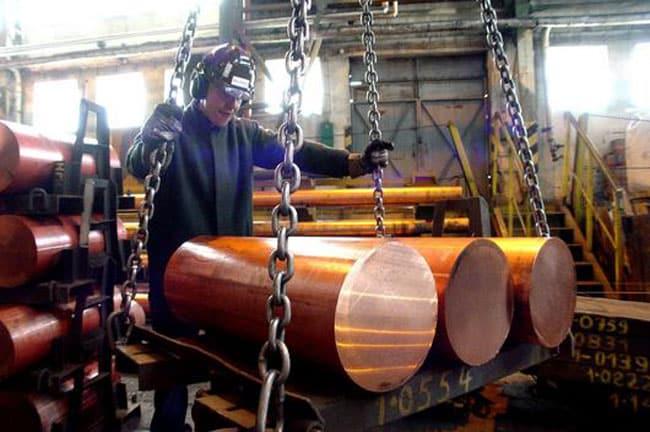 Suivre le cours du cuivre en euro au kilo et la tonne - Prix du fer au kilo ...