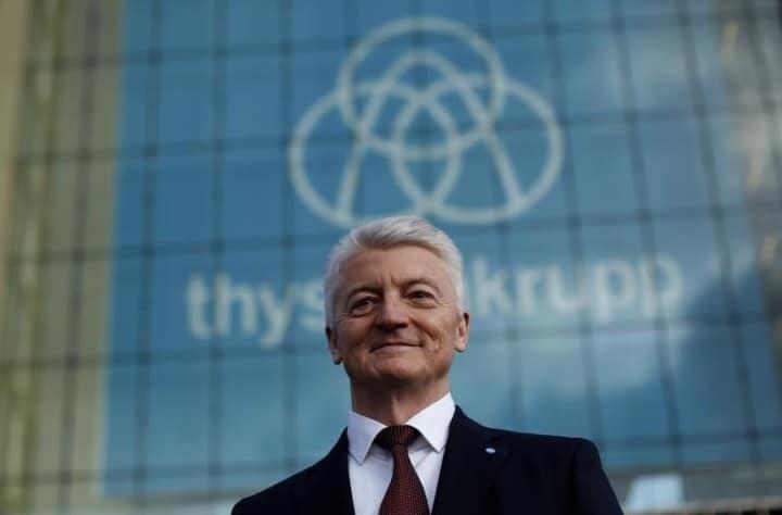 Le président du directoire de ThyssenKrupp