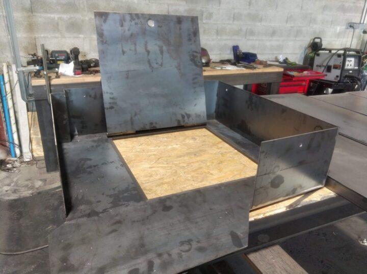 Différents types de pliage acier, inox ou aluminium
